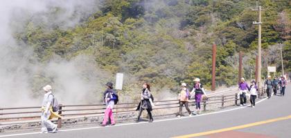 龍馬ハネムーンゥーク霧島温泉コース(約10km)