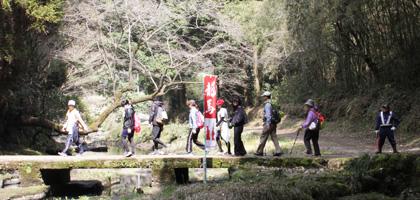 龍馬ハネムーンゥーク犬飼・中津川 コース(約23.5km)