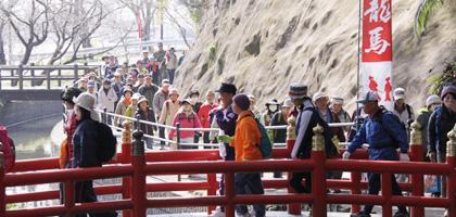龍馬ハネムーンゥーク隼人・天降川コース(約16.8km)