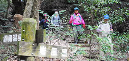 龍馬ハネムーンウオーク花はきりしま菜の花コース(約10km)